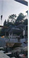 石材厂处理龙门/单臂切割机共6台,10吨单梁行车2台(详见图)