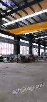 出售2台10吨葫芦双梁跨度23.5米 带1.65米电磁吸盘 140米轨道 现场装车便宜