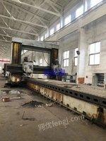市场库存机械厂急售二手北京3.5x12米龙门铣二手北京龙门铣